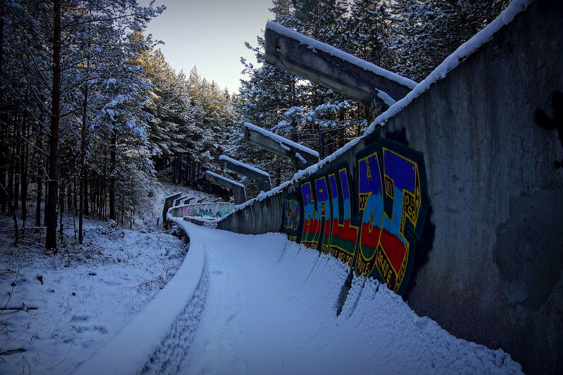 tor bobslejowy Sarajewo