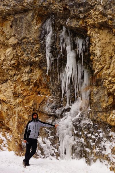 Czarnogóra lodospad