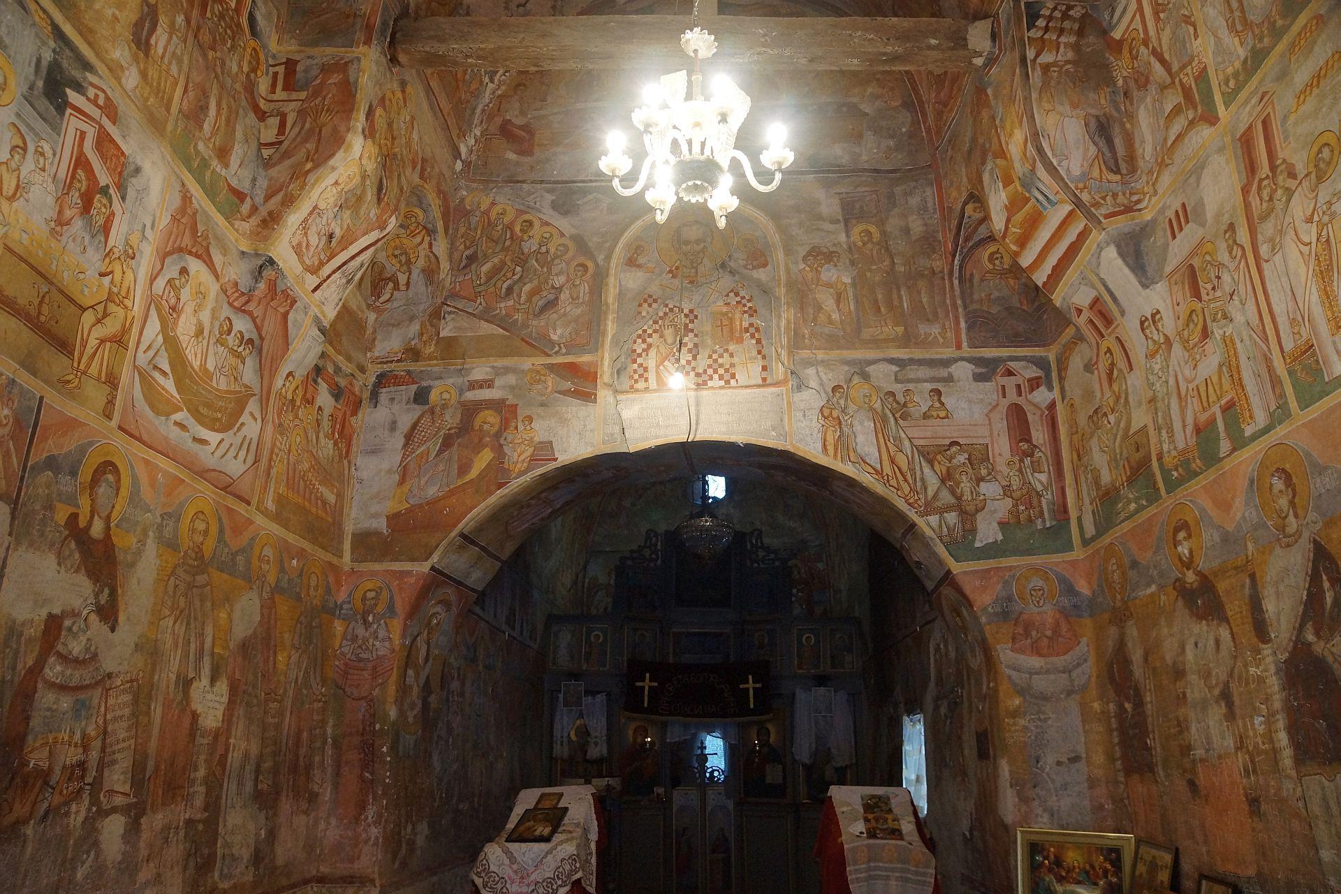 wnętrze monastyru