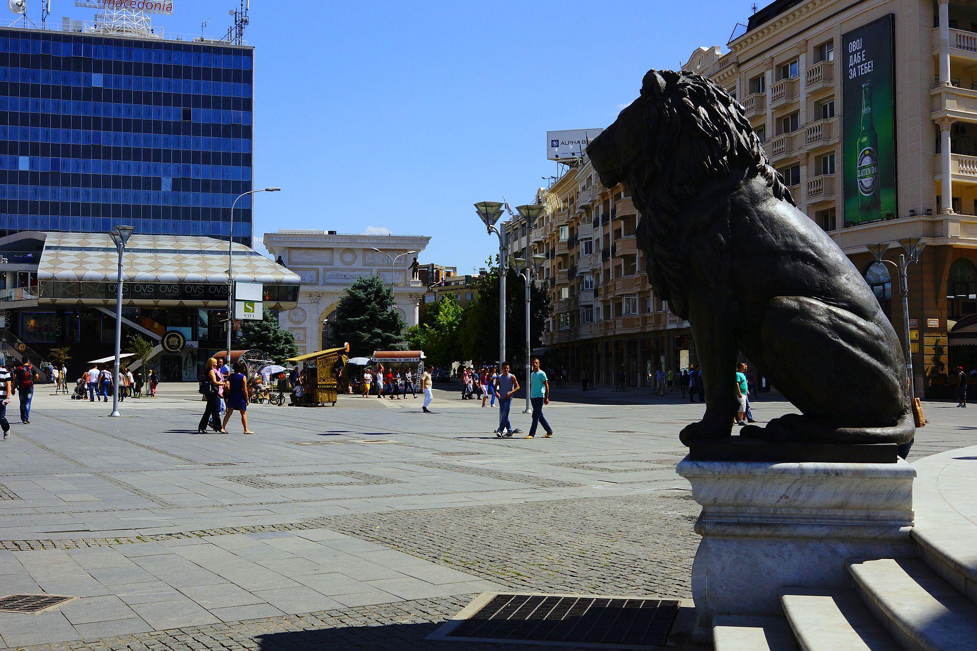 Skopje pl. Makedonia