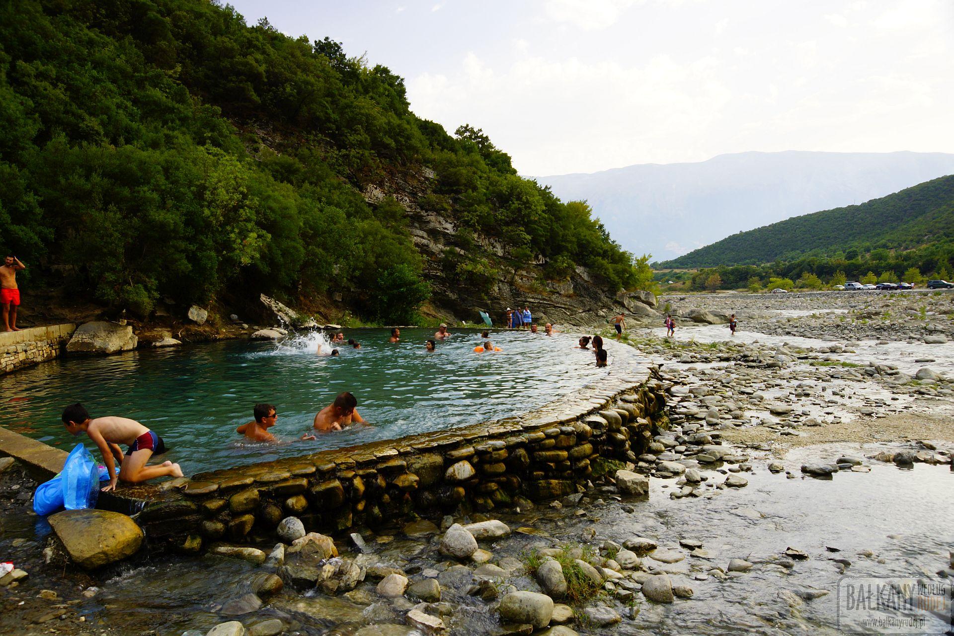 źródła termalne Albania