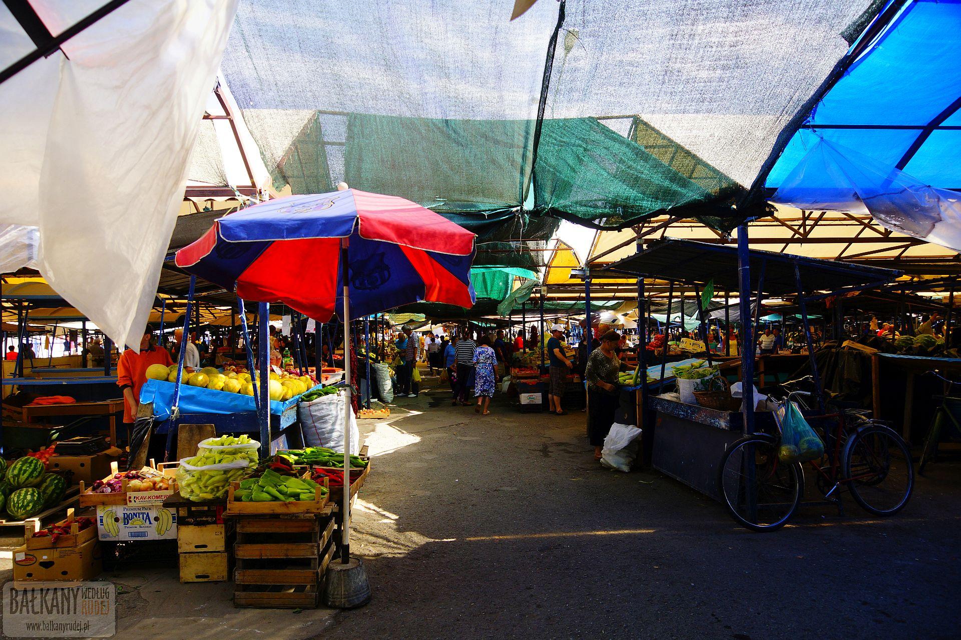 bazar w Ohrydzie
