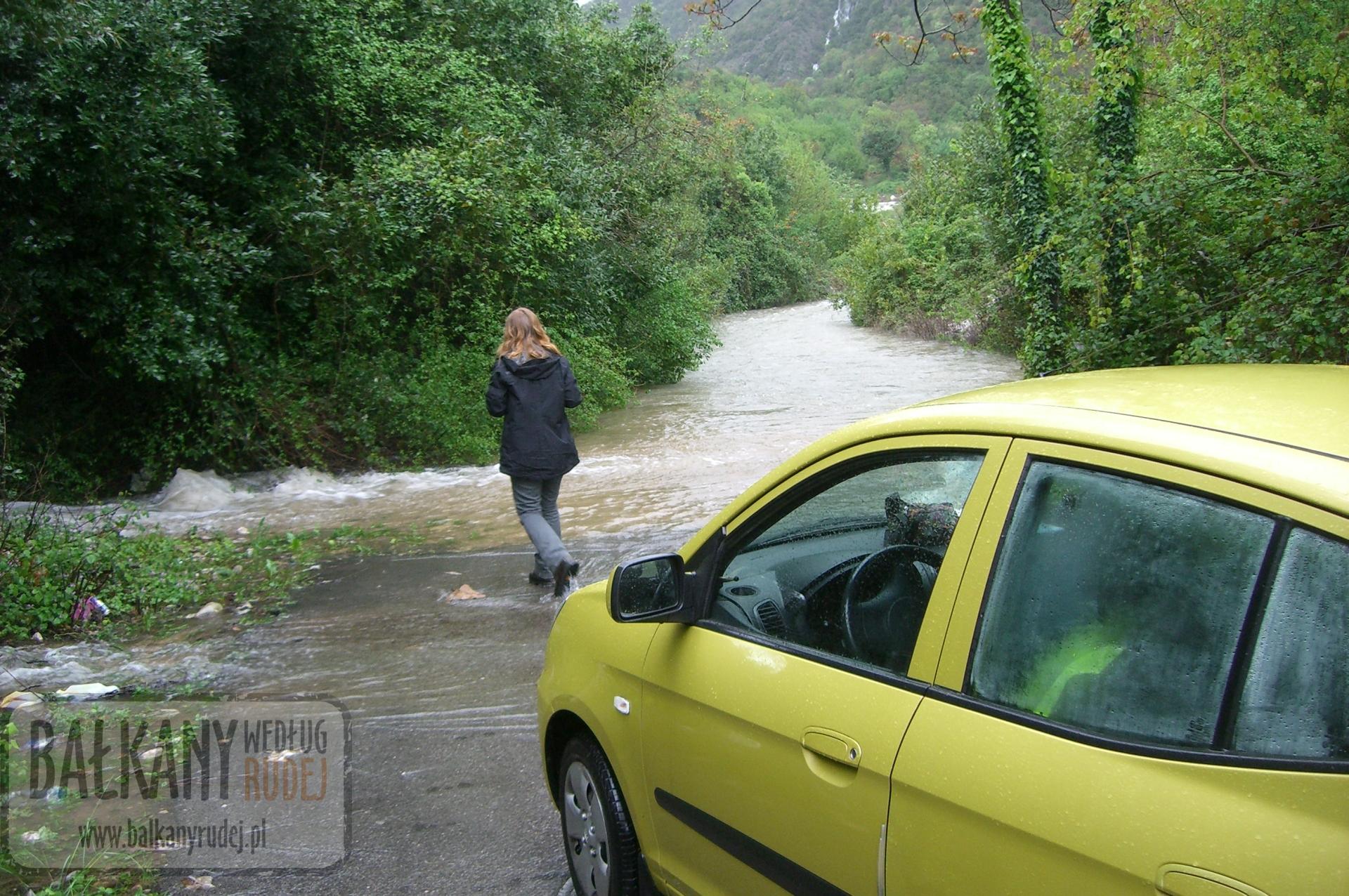 bałkany droga