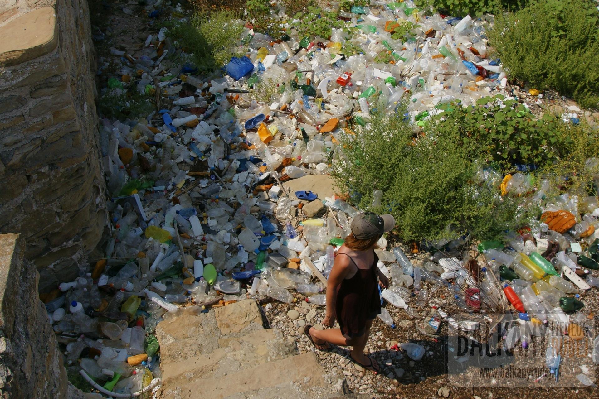 albania śmieci
