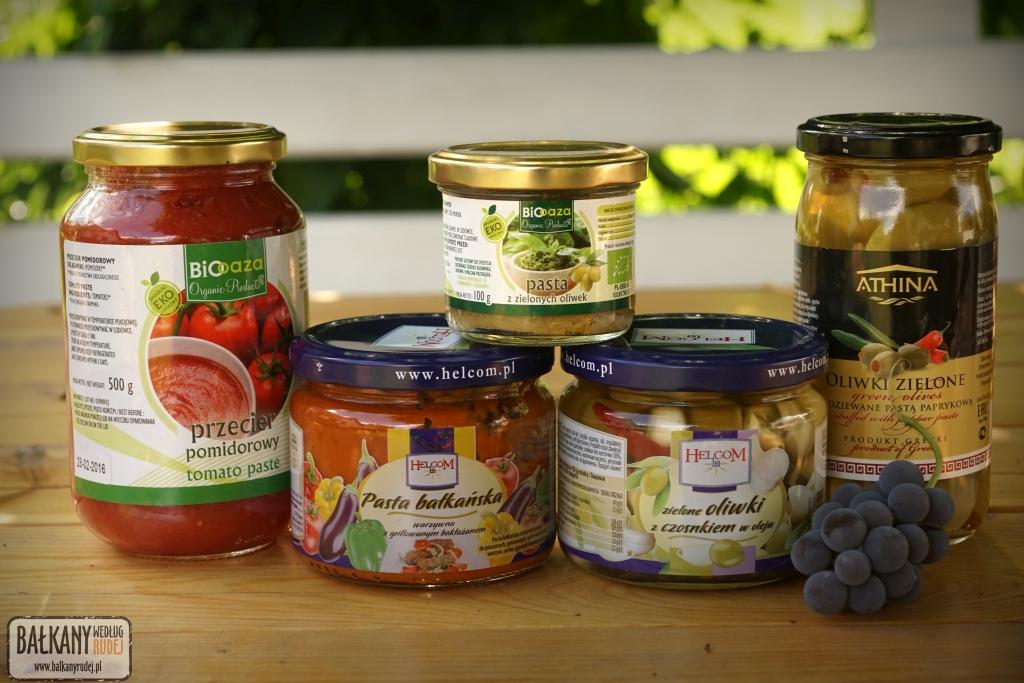 bałkańskie produkty