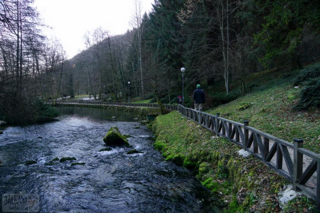 Vrelob Bosne - źródła Bosny
