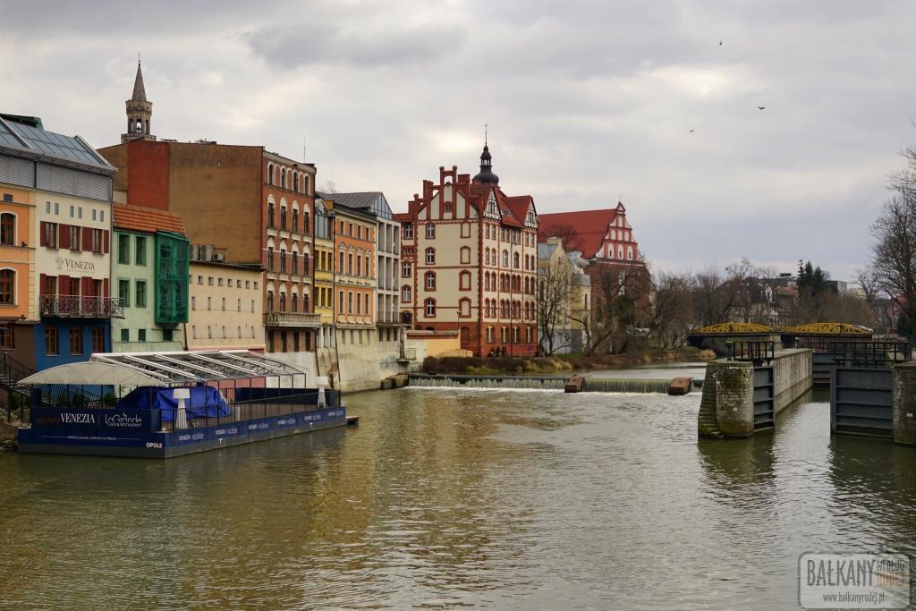Opole kanał Młynówka