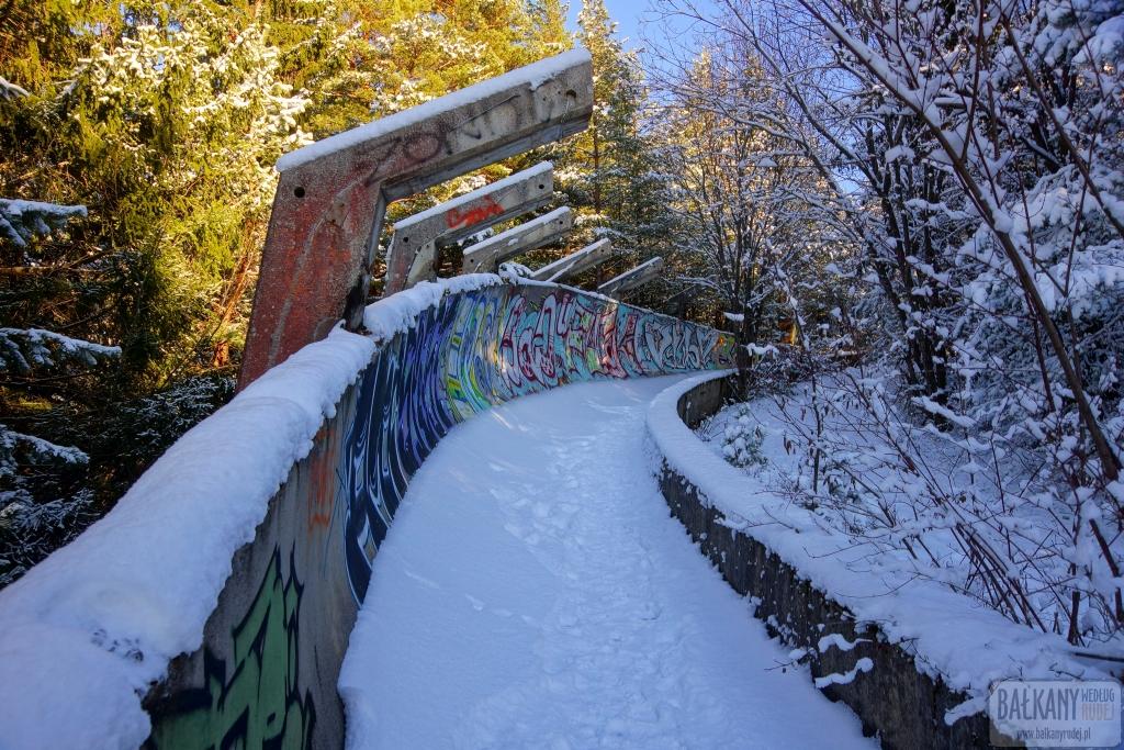 Sarajewo tor bobslejowy