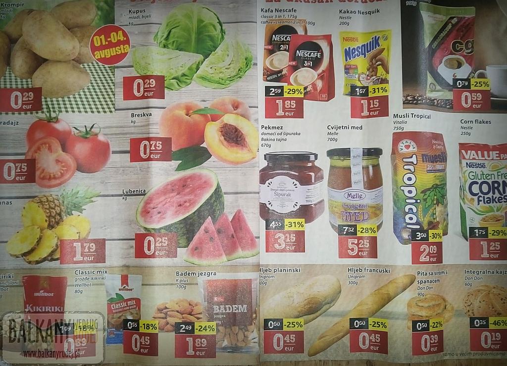 Ceny w Czarnogórze