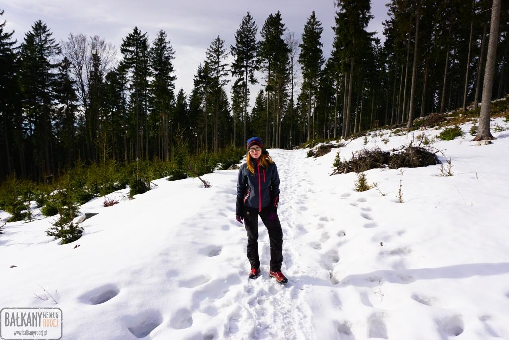 Góry Sowie zima