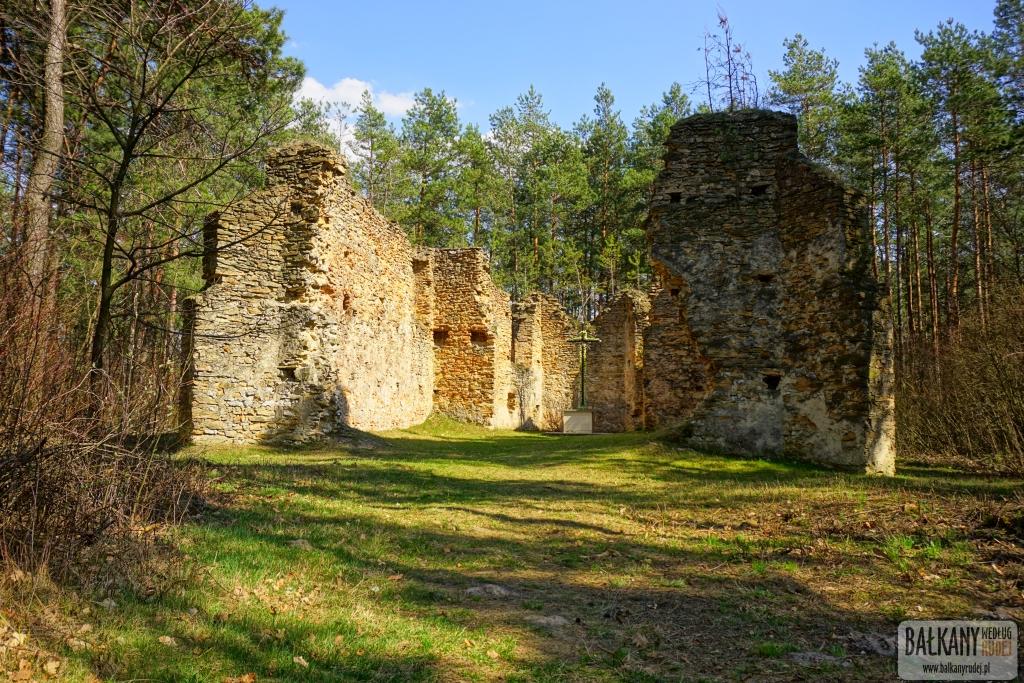 Gruszczyn ruiny