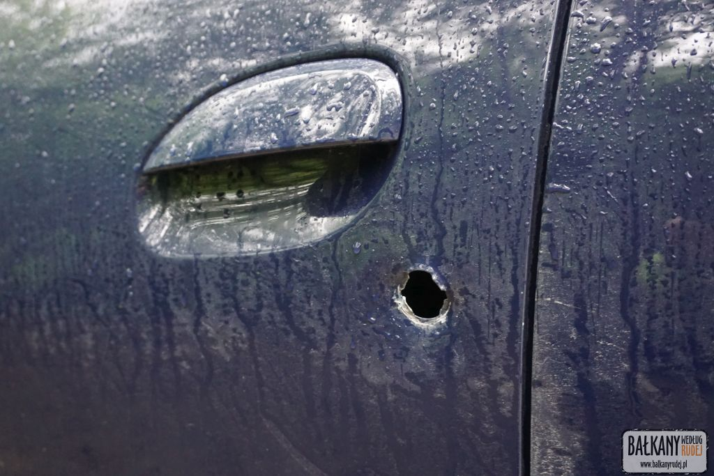 włamanie Dacia Logan