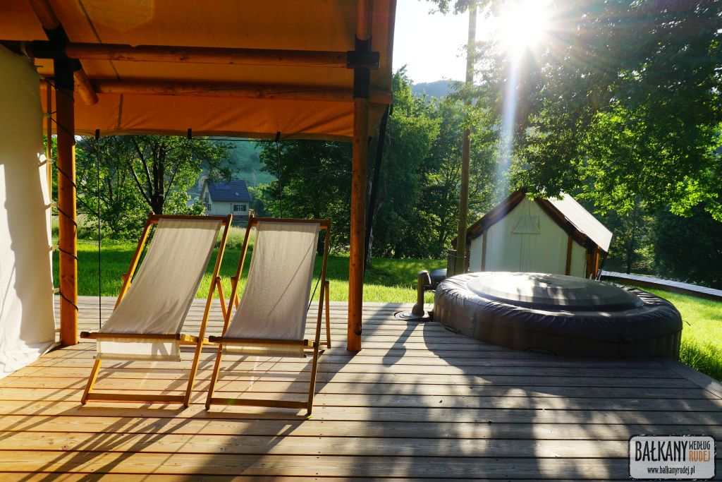 Glamping resort Chateau Ramša