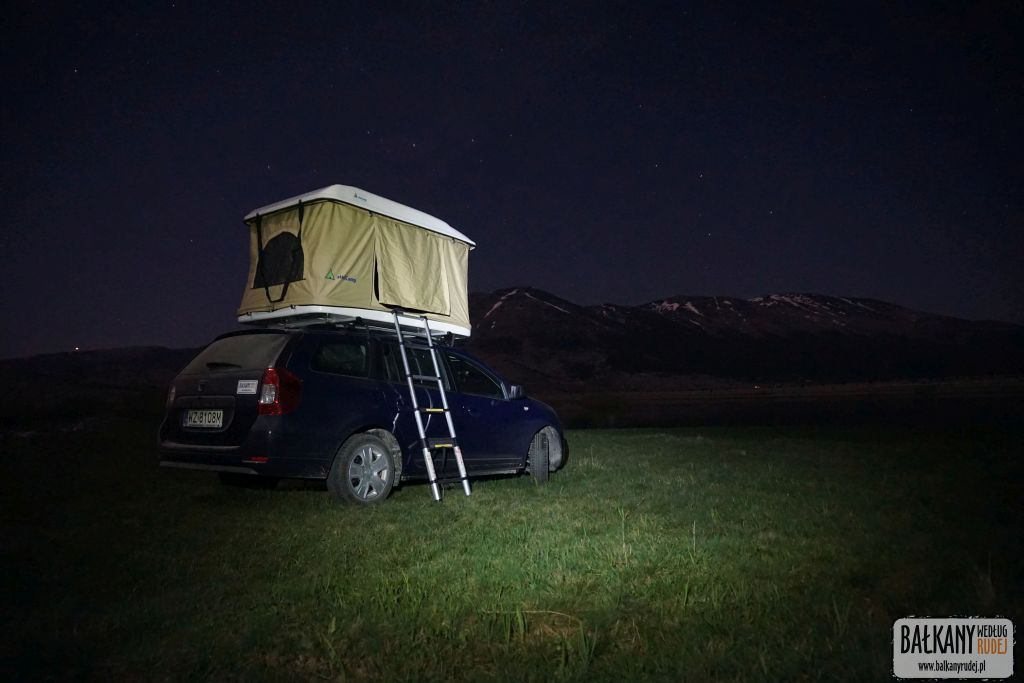 namiot dachowy Mini Camp