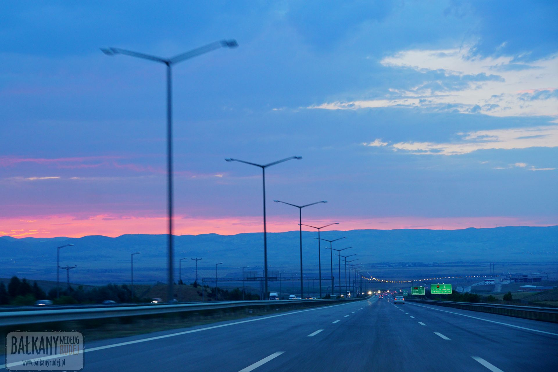 Turcja autostrada