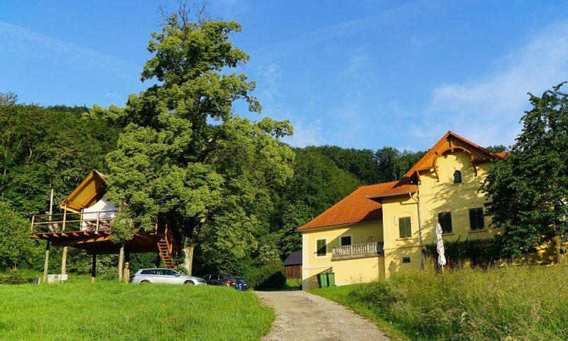 Glamping resort Chateau Ramšak
