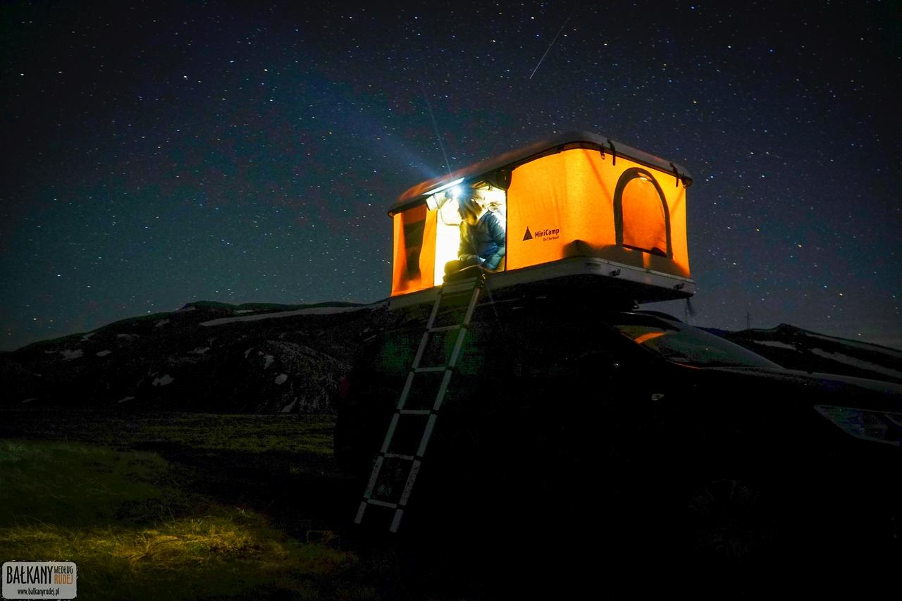 namiot dachowy