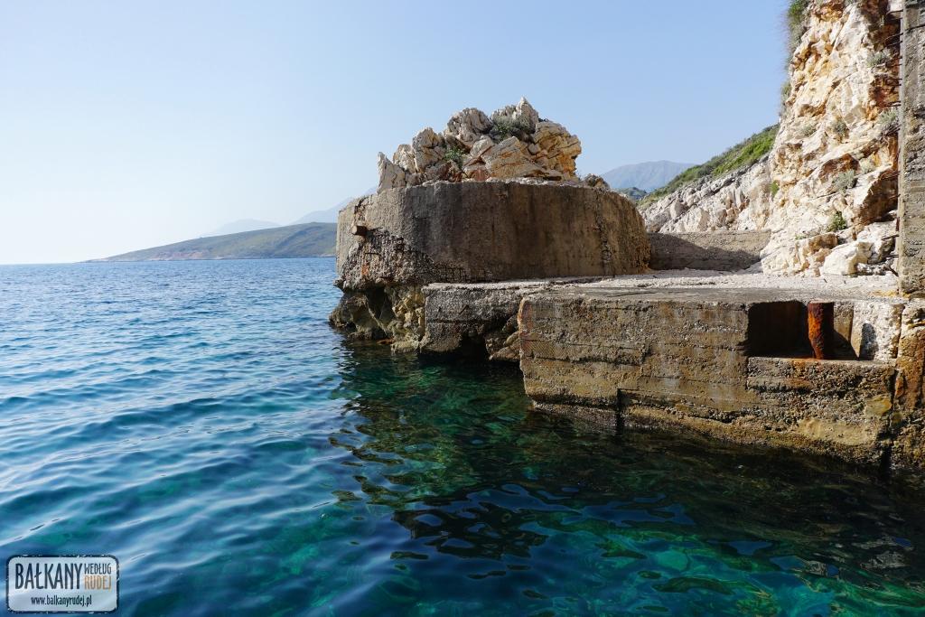 baza łodzi podwodnych Albania