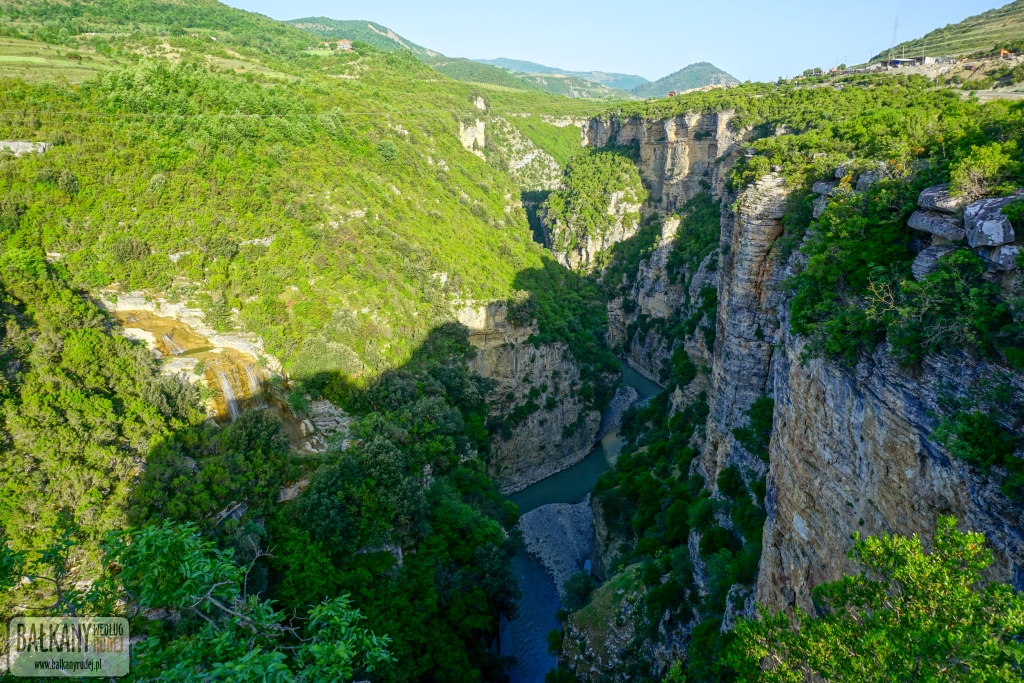 Kanion rzeki Osumi