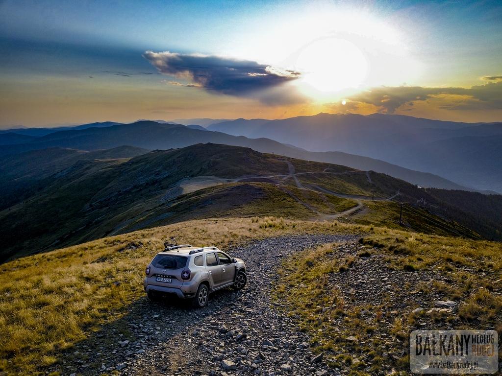 pierwszy raz w Rumunii