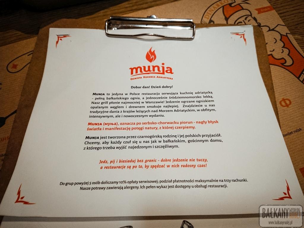 Restauracja Munja