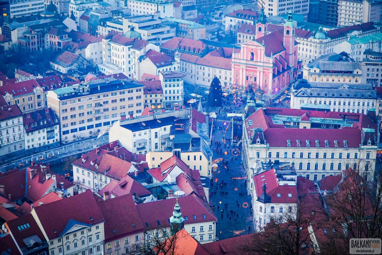 Jarmark świąteczny w Lublanie 12