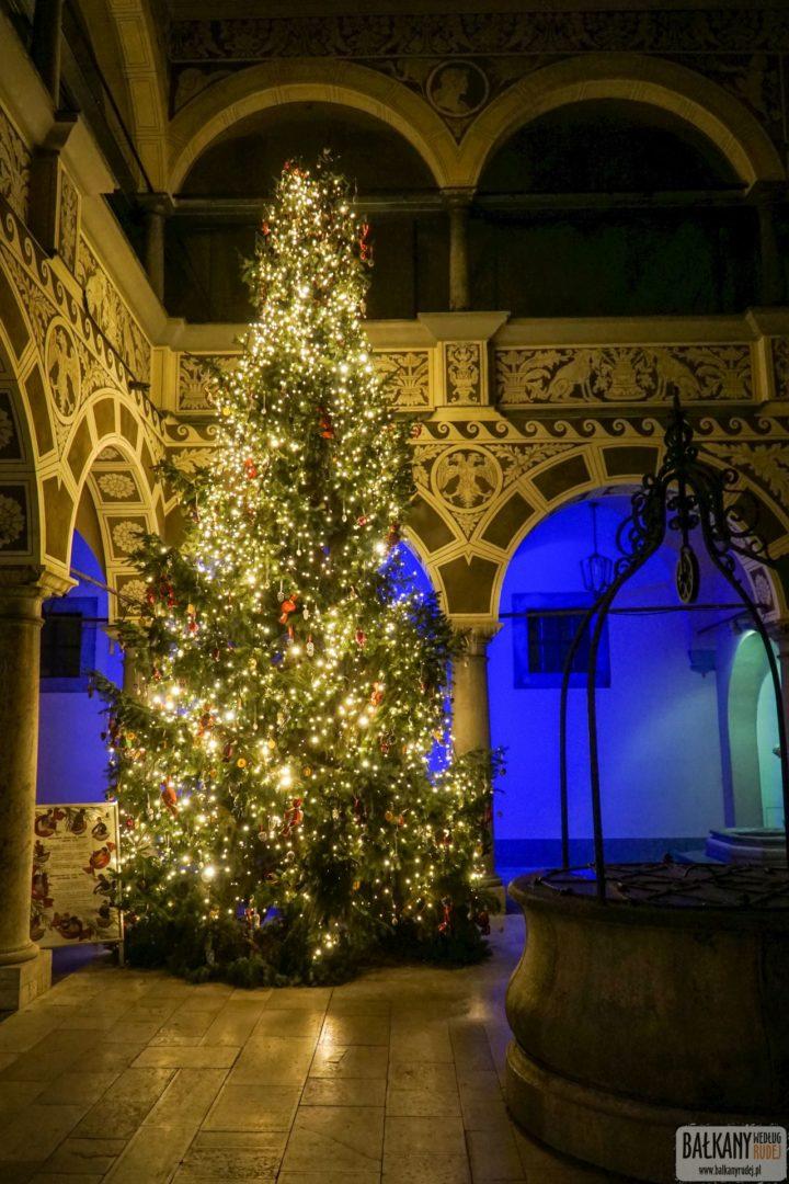 Jarmark świąteczny w Lublanie