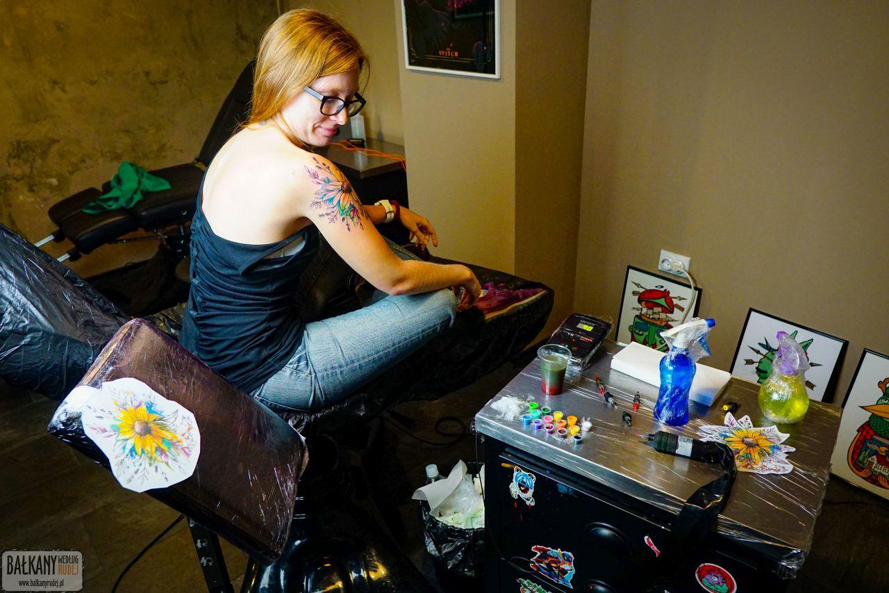 tatuaż za granicą