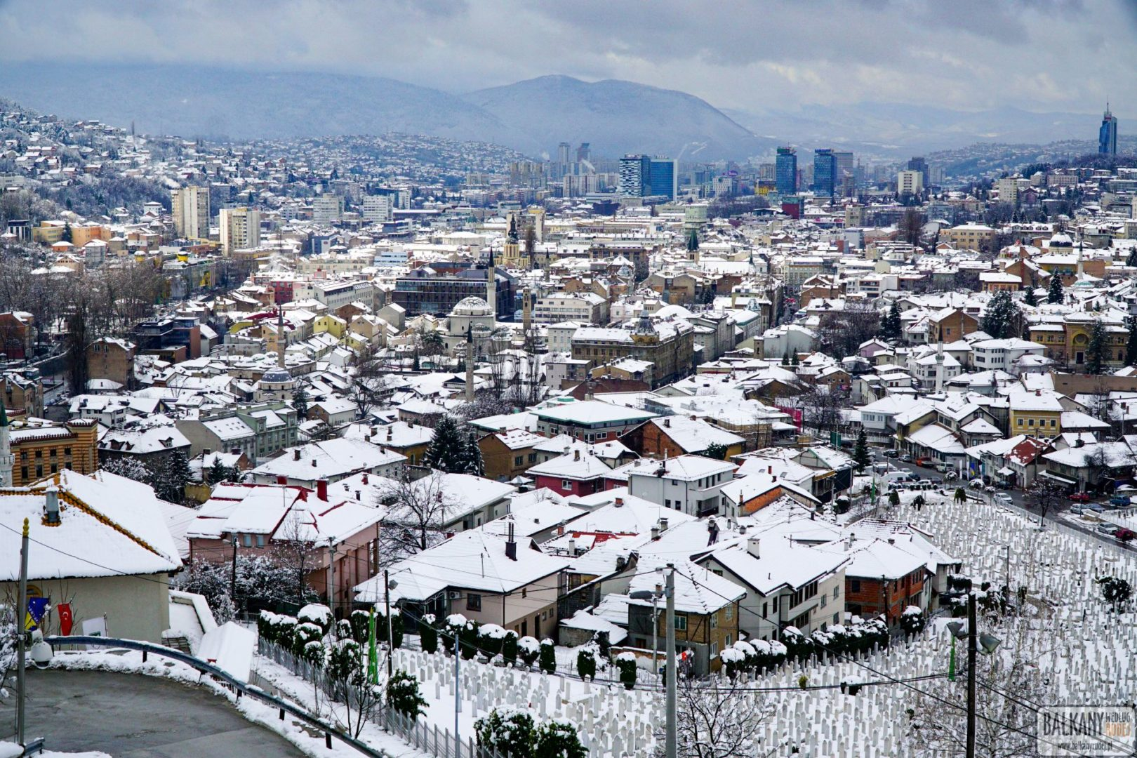 najlepsze punkty widokowe Sarajewa