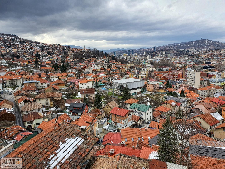 punkt widokowy Sarajewo