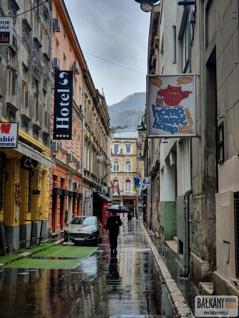 w Sarajewie